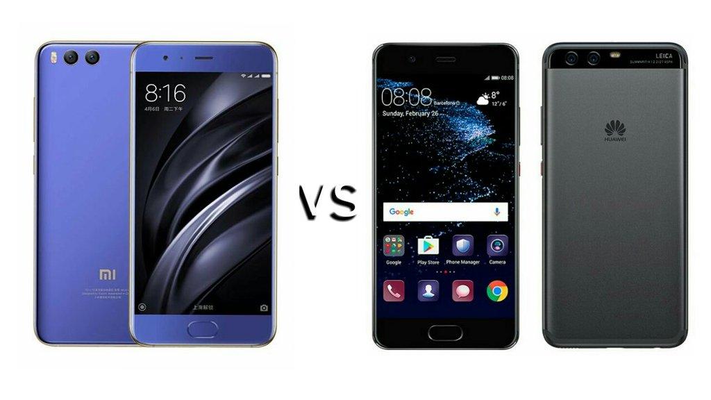 Mi 6 vs Huawei P10